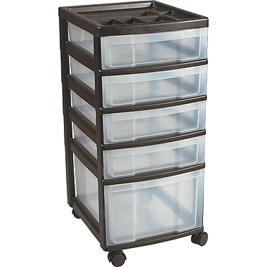 Staples® 5-Drawer Organizer