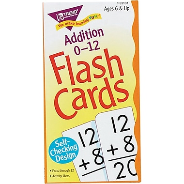 Trend Enterprises Math Flash Cards