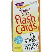 Trend Enterprises Division 0-12 Flash Cards
