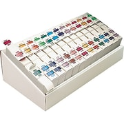 Smead® BCCR Bar-Style Color-Coded Alphabetic Label, A-Z, Label Roll, Assorted Colors (67070)