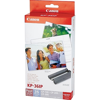 Canon KP-36IP Color Ink w/4in. x 6in. Photo Pack