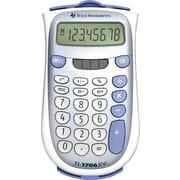 Texas Instruments® TI-1706SV 8-Digit Display Calculator