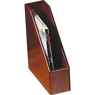 Eldon Wood Tones™ Mahogany-Finish Magazine File