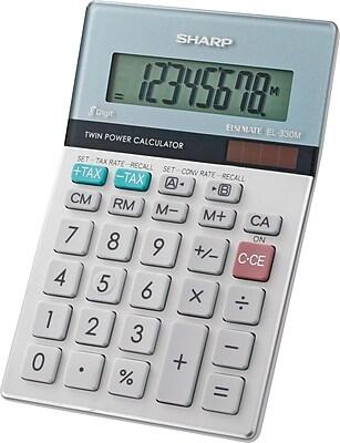Sharp EL-330MB 8-Digit Display Calculator 510878