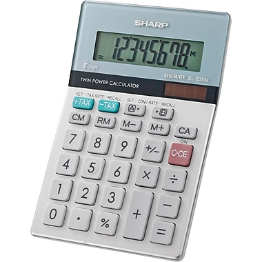 Sharp EL-330MB 8-Digit Display Calculator