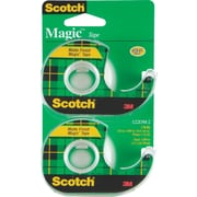 Scotch Magic Tape with Handheld Dispenser Refill - 3/4 x 16.6yd - 2/pack