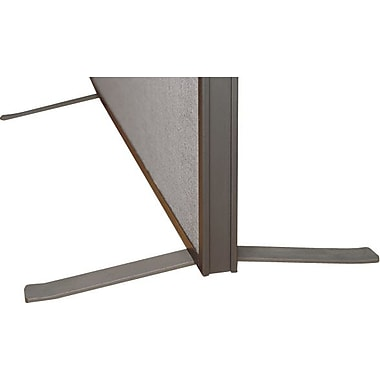 Bush Business ProPanels Single Panel Foot Kit, Taupe