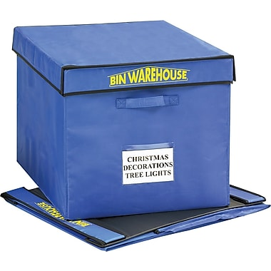 Bin Warehouse 32-Gallon Fold-A-Tote, 4/Pack