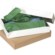 Staples® White Apparel Boxes, 11 1/2 x 8 1/2 x 1 5/8, 100/Case