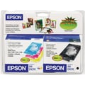 Epson T0441 Black and Color Ink Cartridges (T044120-BCD), Combo 4/Pack