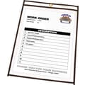 C-Line® Stitched Shop/Job Ticket Holders, 11in. x 14in.