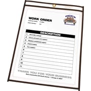 "C-Line® Stitched Shop/Job Ticket Holders, 8-1/2"" x 11"""