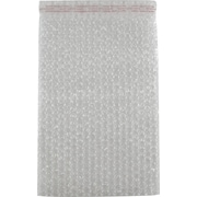 "Fourgals Corp. Bubble-Lined Mailing Bags, Clear, 11""W x 8""L, 200/Carton"