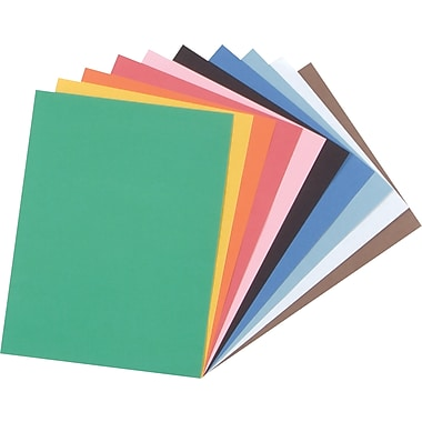 Tru-Ray® Construction Paper, 9in. x 12in., Assorted Colors, 50 Sheets