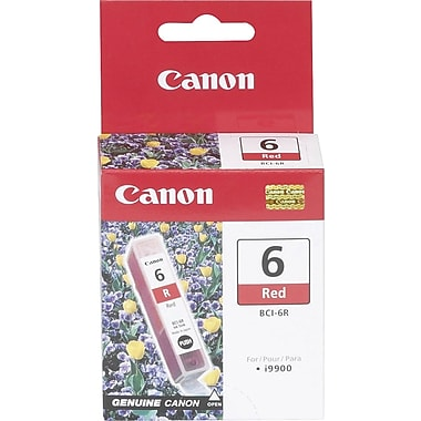 Canon® BCI-6R Red Ink Tank (8891A003)