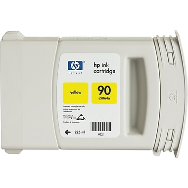 HP 90 225ml Yellow Ink Cartridge (C5064A)