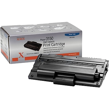 Xerox Phaser 3150 Black Toner Cartridge (109R00747), High Yield