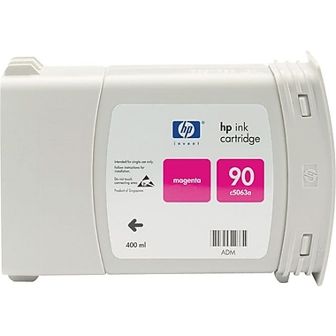HP 90 400ml Magenta Ink Cartridge (C5063A), High Yield