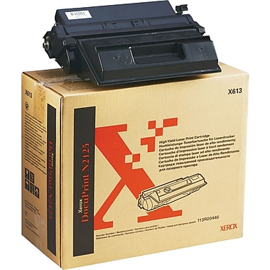 Xerox DocuPrint N2125 Black Toner Cartridge (113R00446), High Yield
