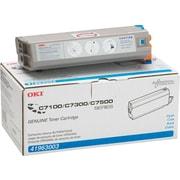 OKI® 41963003 Cyan Toner Cartridge