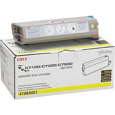 OKI 41963001 Yellow Toner Cartridge