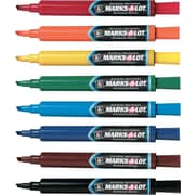 Avery Marks-A-Lot® Permanent Markers, Chisel Tip, Assorted, Dozen