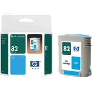 HP 82 Cyan Ink Cartridge (C4911A), 69ml
