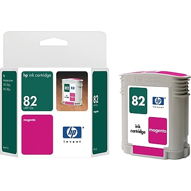 HP 82 Magenta Ink Cartridge 69 Mil (C4912A)
