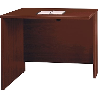Bush Westfield Collection 36in. Return/Bridge, Cherry Mahogany, Fully assembled