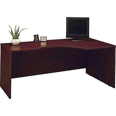 Bush Westfield Right Corner Module, Cherry Mahogany, Fully assembled