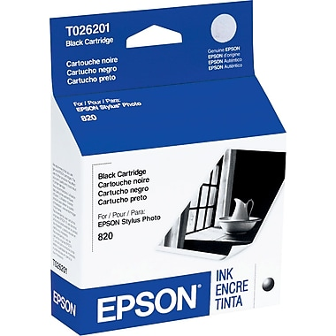 Epson 26 Black Ink Cartridge (T026201)