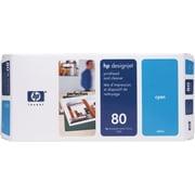 HP 80 Cyan Printhead and Cleaner (C4821A)