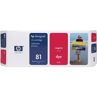 HP 81 Magenta Ink Cartridge (C4932A)