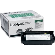 Lexmark 12A6865 Black Toner Cartridge, High Yield