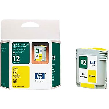 HP 12 Yellow Ink Cartridge (C4806A)