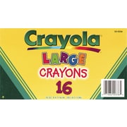 Crayola® BIN52-0336 Crayon, Assorted, 16/Box