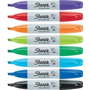 Sharpie® Permanent Markers, Chisel Tip