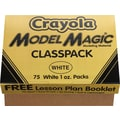 Crayola® Model Magic White Classpack, 1-oz. Packages, White, 75/Pack