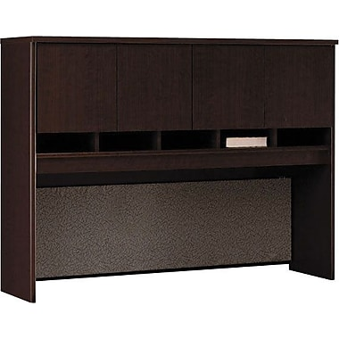 Bush Westfield 60in. 4-Door Hutch, Mocha Cherry