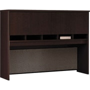 Bush Westfield 60 4-Door Hutch, Mocha Cherry