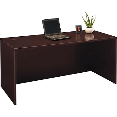 Bush Westfield 66in. Managers Desk, Mocha Cherry