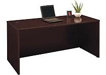 Bush Westfield 66' Managers Desk, Mocha Cherry
