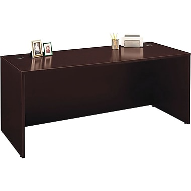 Bush Westfield 72in. Desk, Mocha Cherry