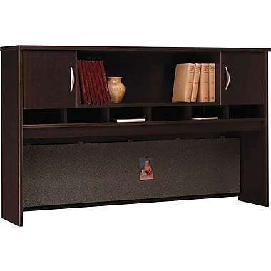 Bush Westfield 72in. 2-Door Hutch, Mocha Cherry