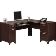 Bush Furniture Tuxedo L Shaped Desk, Mocha Cherry (WC21830K)