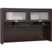 Bush Furniture Tuxedo Hutch, Mocha Cherry
