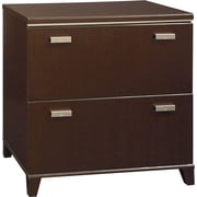 Bush Furniture Tuxedo Lateral File, Mocha Cherry