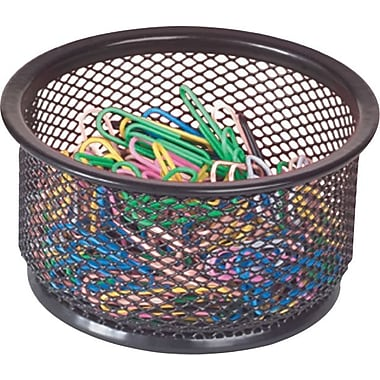 Staples® Black Wire Mesh Small Doodad Cup