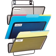 Staples® Metal Mesh 3-Slot Wall File