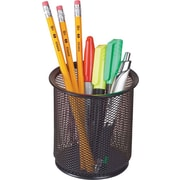 Staples® Black Wire Mesh Pencil Holder
